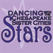 Dancing with the Chesapeake Sister Cities Stars logo